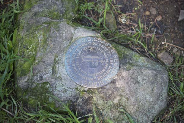 Mount Wittenberg Summit marker