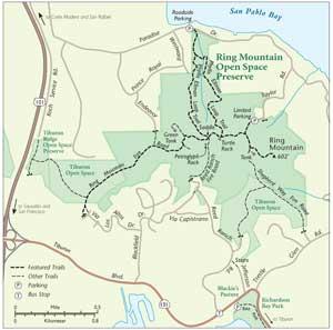 Ring Mountain Map