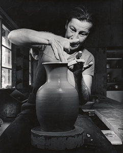 Wildenhain in her studio.