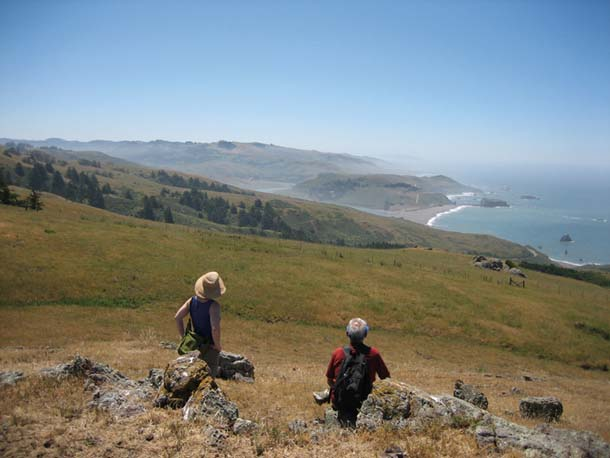 View from Jenner Headlands toward the Russian River.Photo courtesy Sonoma Land Trust.