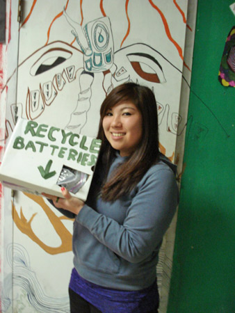 Tianna Katsui is a students at Pinole Valley High School's Environmental Studies Academy.Photo by Donna Whitmarsh.