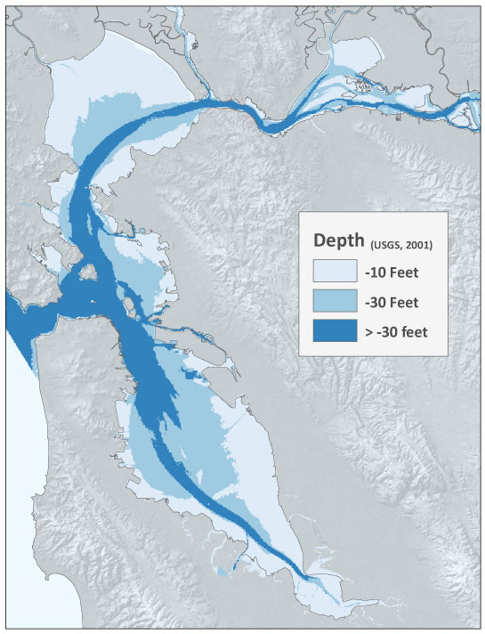 Bay Depth Map
