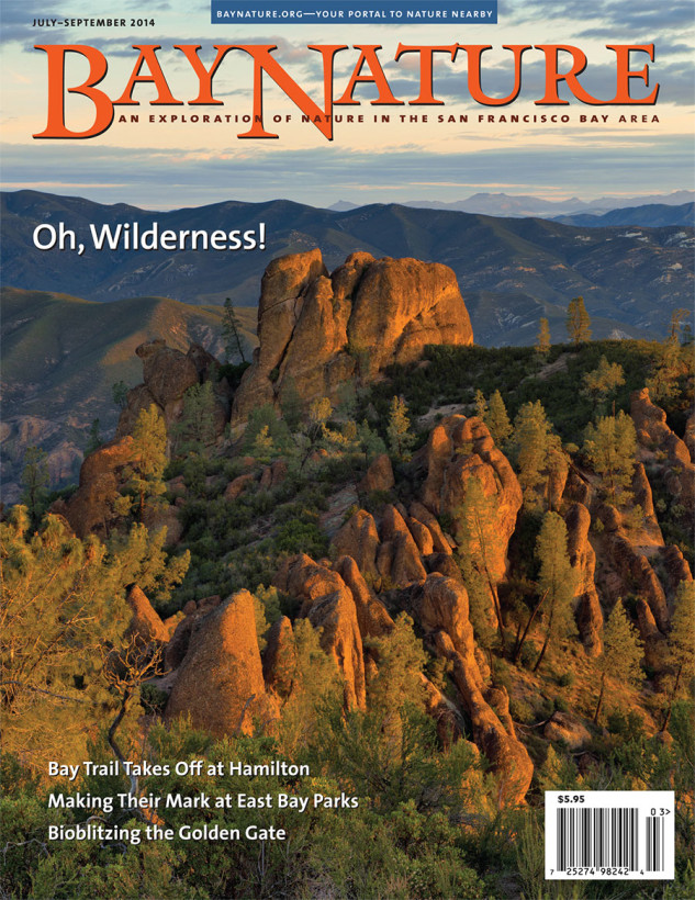 Bay Nature Jul-Sept 2014 cover